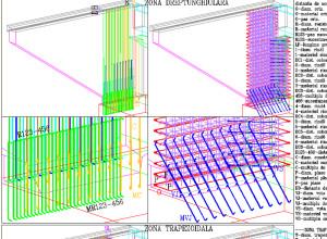 RBridge-Reinforcement supporting back wall input data