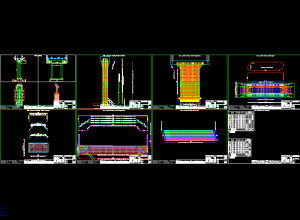 RBridge-Pier reinforcement drawings