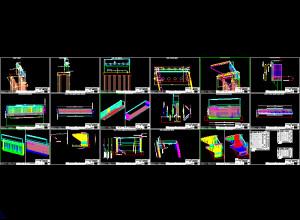 RBridge-Abutment reinforcement drawings