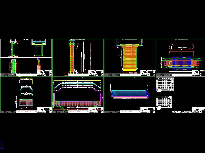 RBridge-Pile-Reinforcement drawings