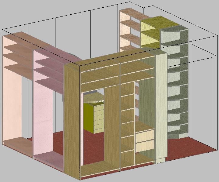 Design Of Furniture In Autocad