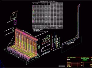 LWall-output DWG-3D drawing