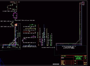 LWall-output DWG-2D drawing