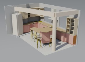 Kitchen furniture - example 2
