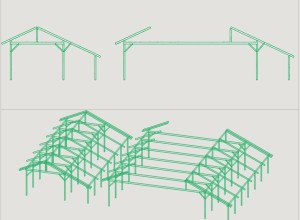Wood structure resulting from the GWB program, globally modified