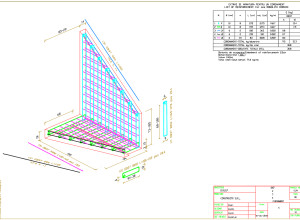 Coping, output DWG